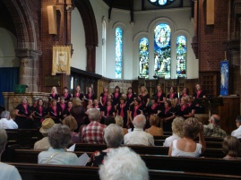 Summer concert at St George's, Altrincham 2010