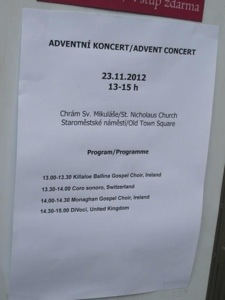 Prague Advent Festival 2012