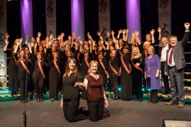 Winners at the North Wales Choral Festival, November 2014