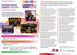 limerick sings brochure