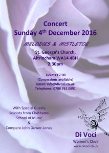 Melodies & Mistletoe - Di Voci Christmas concert