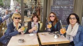 Paris cocktails pre concert