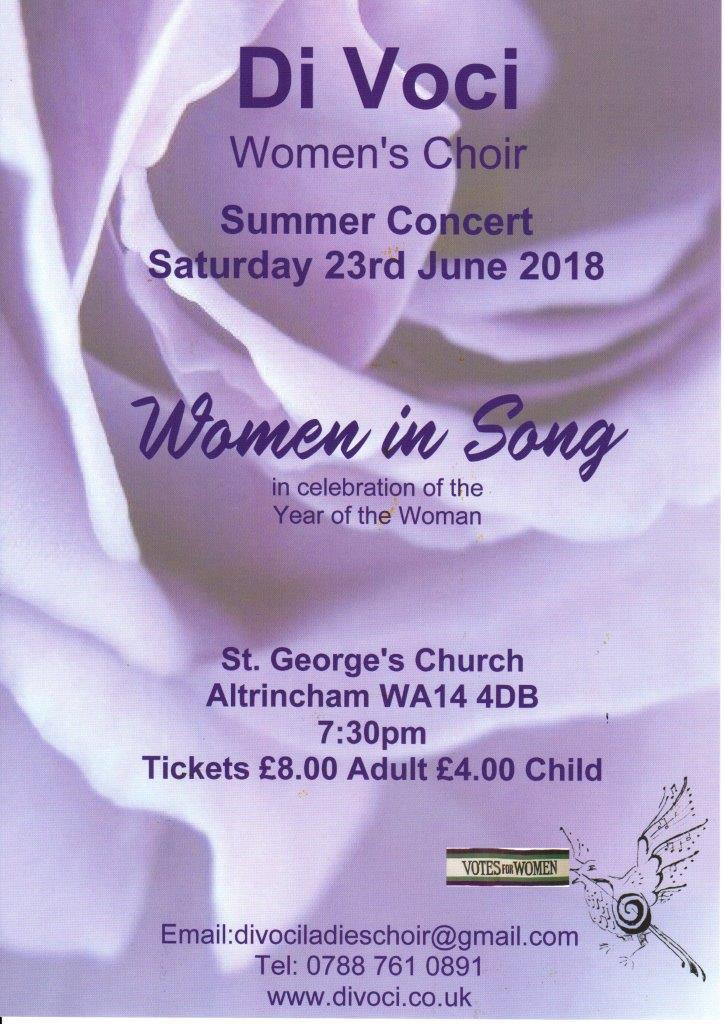 June 18 concert poster