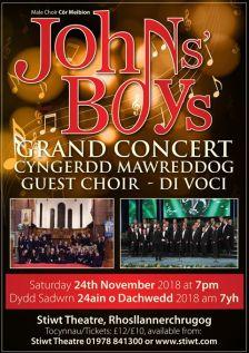 Nov 18 concert poster